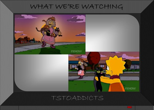 Snowball V Simpsons