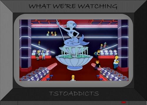 Mr. Burns' Casino Mermaid Fountain Simpsons