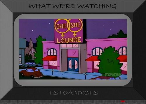 She-She Lounge Simpsons