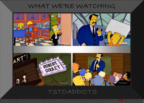 Bart's Casino Robert Goulet Simpsons
