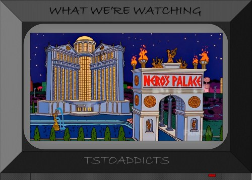 Nero's Palace and Fountain Simpsons