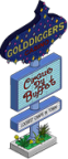 Tapped_Out_Golddiggers_Sign