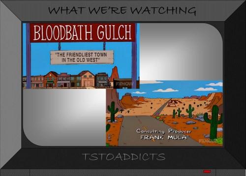 Bloodbath Gulch Simpsons