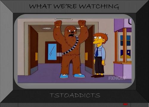 Chewbacca Simpsons