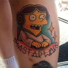 I'm A Star Wars Ralph Wiggum Tattoo