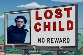 Lost Child Simpsons Kylo Ren