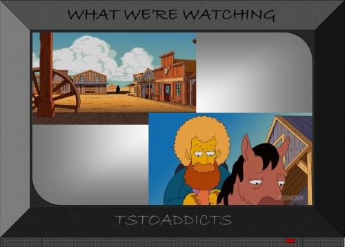 Wild West Dick Fiddler Principal Skinner Simpsons