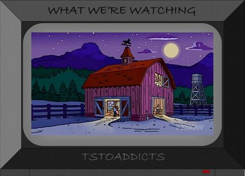Hootenanny Barn Simpsons