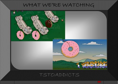 Donuts Simpsons