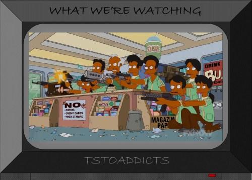 Future Apu Nahasapeemapetilon and Octuplets Simpsons