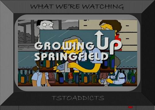 Growing Up Springfield Moe Simpsons