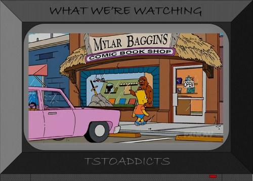 Mylar Baggins Comic Book Shop Simpsons