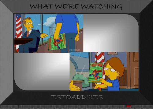 One-Week Wonder Films Everyman Comic Simpsons