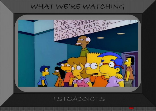 Springfield Googolplex Theaters Bart Milhouse Samantha Stankey Simpsons