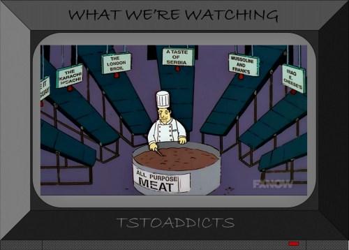 Springfield Squidport All Purpose Meat Simpsons