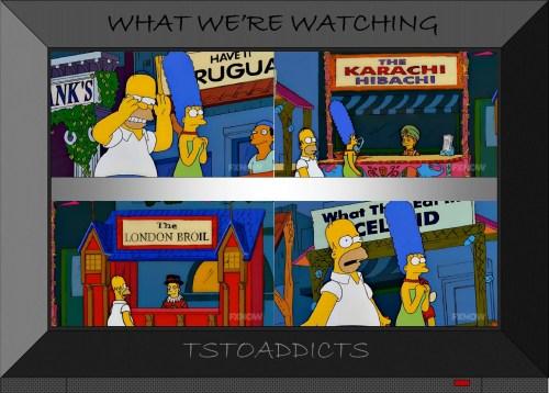 Springfield Squidport Booths Simpsons 2