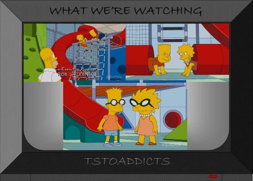 Bart and Lisa Doppelgangers Simpsons