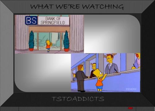 BS Bank of Springfield Reindeer Simpsons