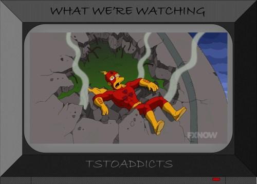 Defeated Radioactive Man Simpsons