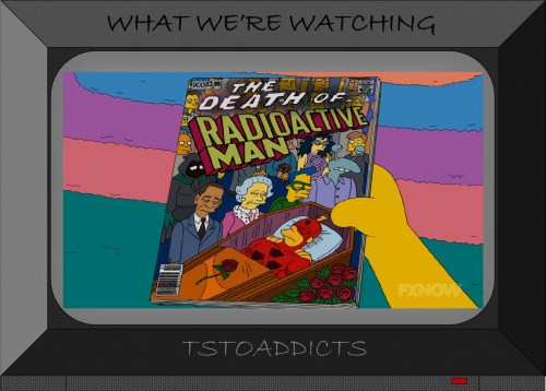 Dr. Crab The Death of Radioactive Man Simpsons