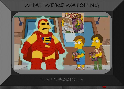 Everyman Fallout Boy Comic Simpsons