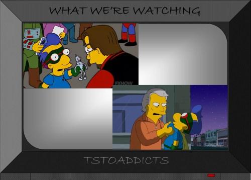 Fallout Boy Milhouse Simpsons