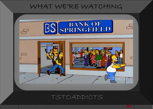 First Bank of Springfield Bart PBS Hooligans Simpsons