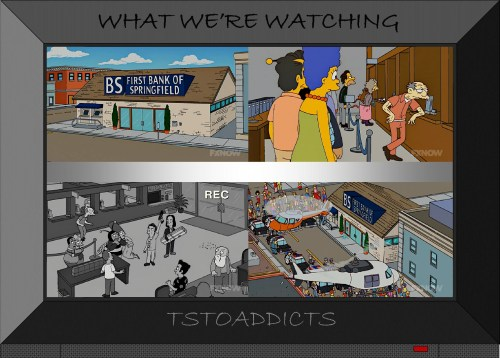 First Bank of Springfield Robbery Simpsons