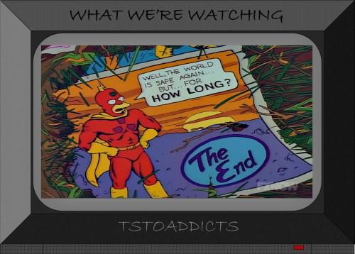Last Page of Radioactive Man #1 Origin Story Simpsons
