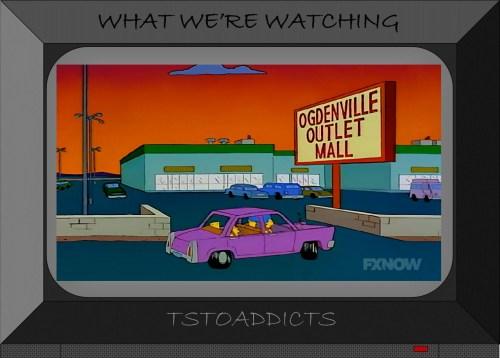 Ogdenville Outlet Mall Simpsons