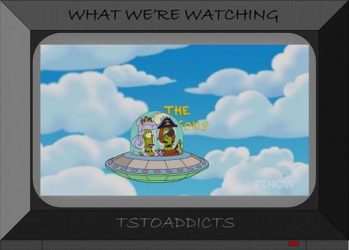 Pirate Kand & Fairy Kodos Simpsons Intro