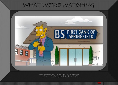 Principal Skinner First Bank of Springfield Simpsons