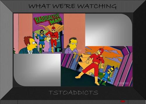 Radioactive Man 1970s TV Show Simpsons