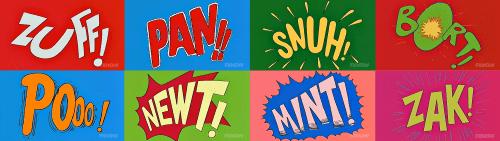 Radioactive Man Fight Words Simpsons