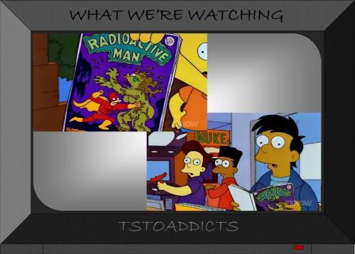 Radioactive Man vs. the Swamp Hag Simpsons