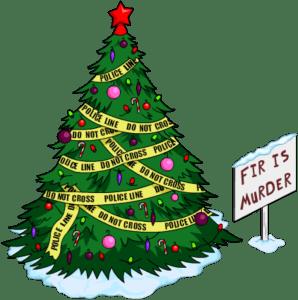 fir-is-murder-tree-sign