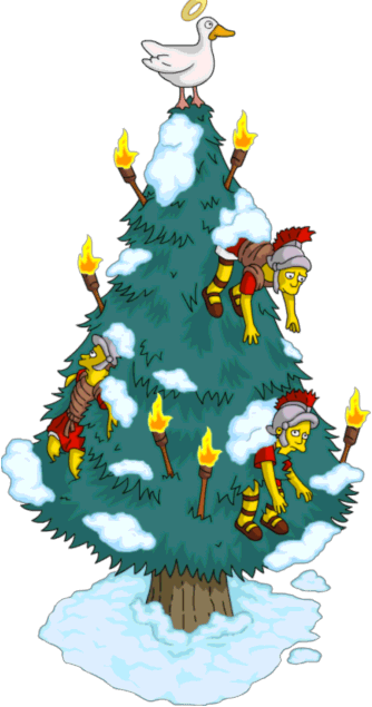 Simpsons Christmas EpisodeThe Simpsons Tapped Out