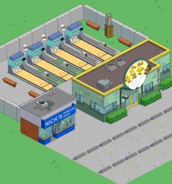 so there s a bunch of different ways you can make those bowling lanes seamlessly blend into springfield even if they do belong inside  [ 2560 x 1440 Pixel ]