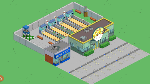small resolution of so there s a bunch of different ways you can make those bowling lanes seamlessly blend into springfield even if they do belong inside