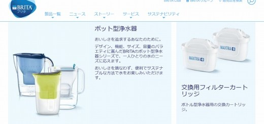 ブリタ 浄水器 使い方