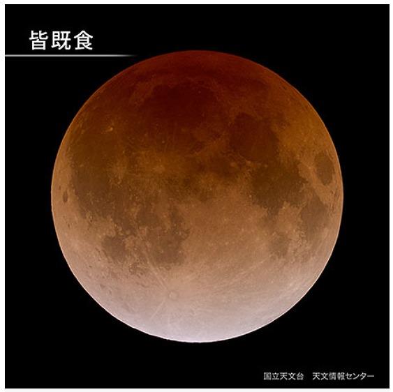 皆既月食 2021