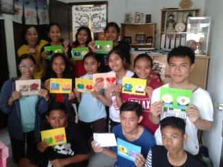 Foto bersama setelah kelas origami