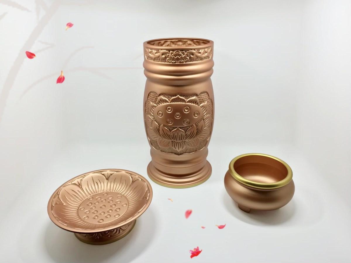 玫瑰金系列 – 村大銅器