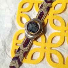 《フルオーダー作品》ヘンプ腕時計