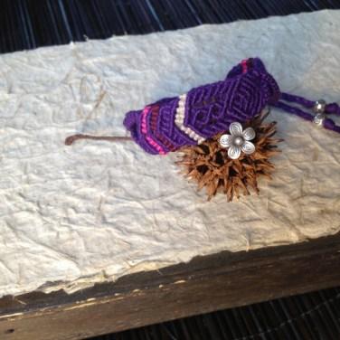 《フルオーダー作品》紫を纏う花