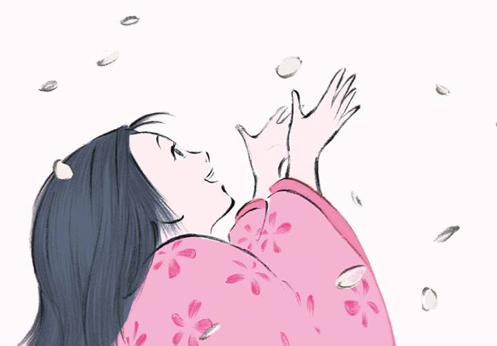 Illustration du film Le conte de la princesse Kaguya