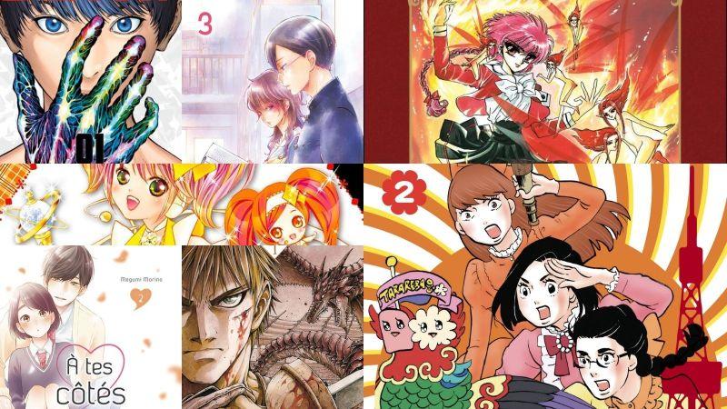 Achats mangas de novembre 2020