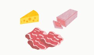 リステリア食中毒の主な原因食品例