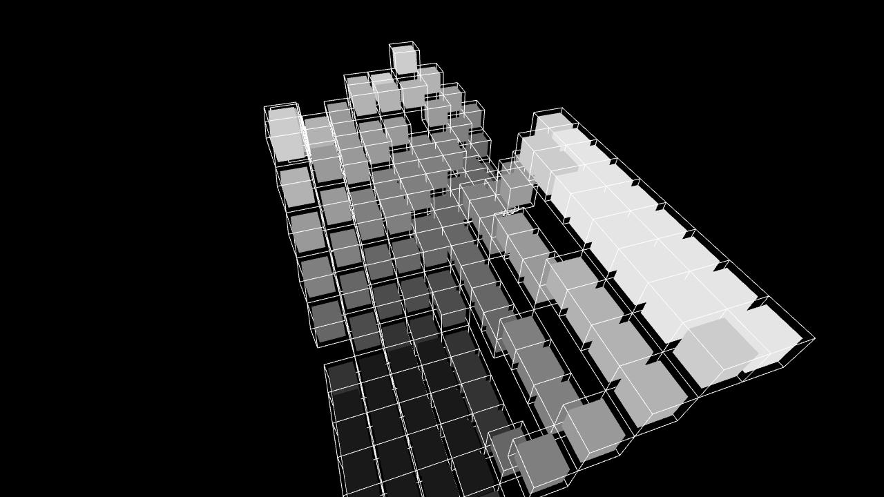 [work 87] Flow Cubes