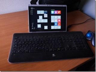 レッツノートRZ4のちょっと変わった使い方!その日の気分でキーボードを変更する。